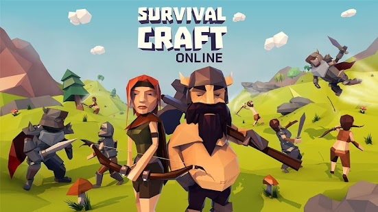 APK Game Survival Craft Online for BB, BlackBerry