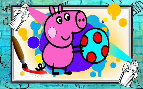 Game Peepa Pig Coloring Book APK For Windows Phone