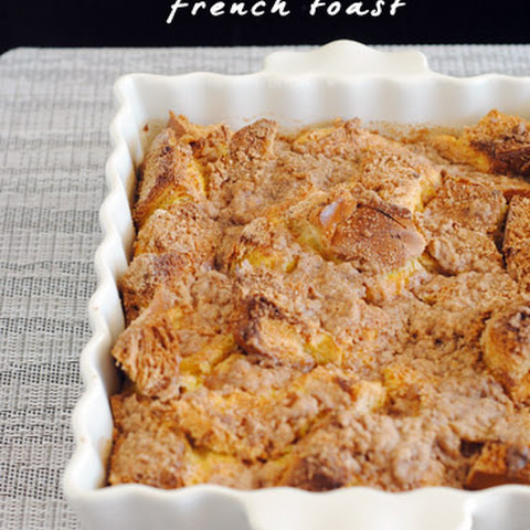 Pumpkin Baked French Toast