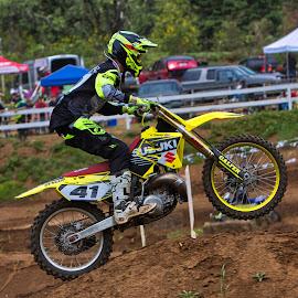 Not so mellow yellow by Jim Jones - Sports & Fitness Motorsports ( motorsport, motocross, motorcycles, mx, moto )