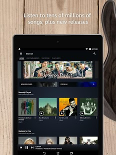 Amazon Music for Lollipop - Android 5.0