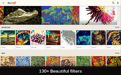 Painnt - Pro Art Filters APK for Bluestacks