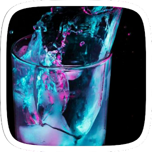 Blue Water Glass Theme