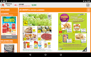 Screenshot of My Auchan