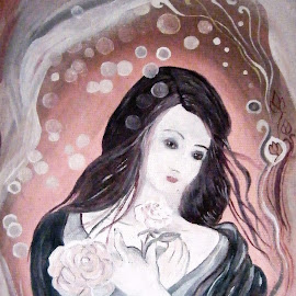 Lady by Vesna Disich - Painting All Painting