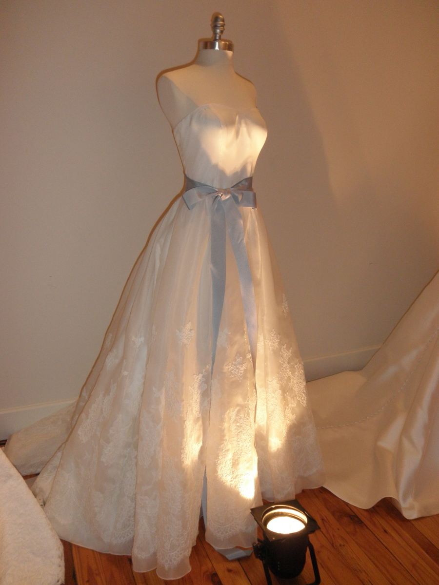 This beautiful wedding gown is