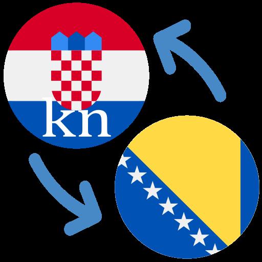 Android aplikacija Hrvatska kuna prema bosanskoj marki na Android Srbija
