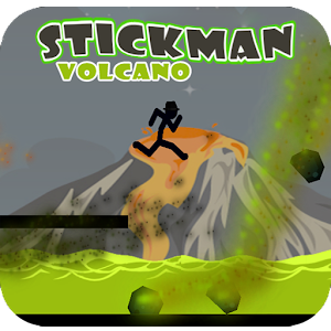 Stickman Volcano Adventure For PC (Windows & MAC)
