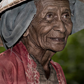 older is art by Mohd Helmie Wahab - People Portraits of Women
