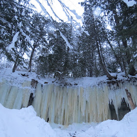 Eben Ice Caves 2016 by Jason Asselin - Landscapes Caves & Formations ( michigan, naure, winter, ice, caves, landscape )