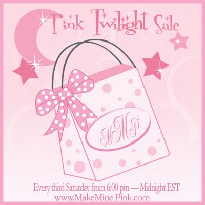 Pink Twilight Sale Tonight