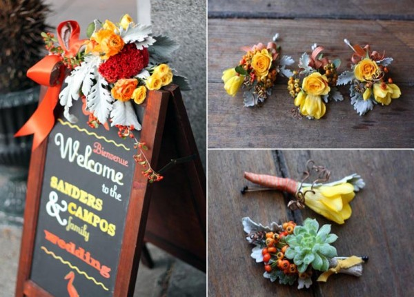 Fall Wedding Ideas, outdoor