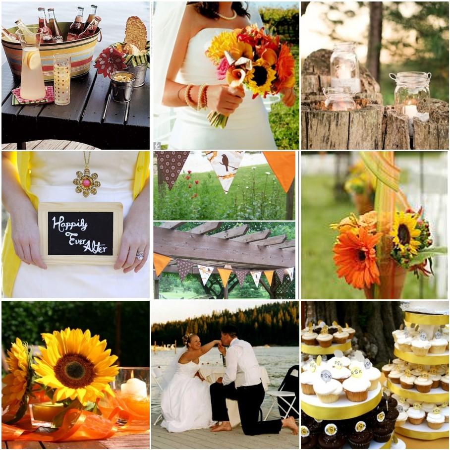 diy wedding programs fan DIY