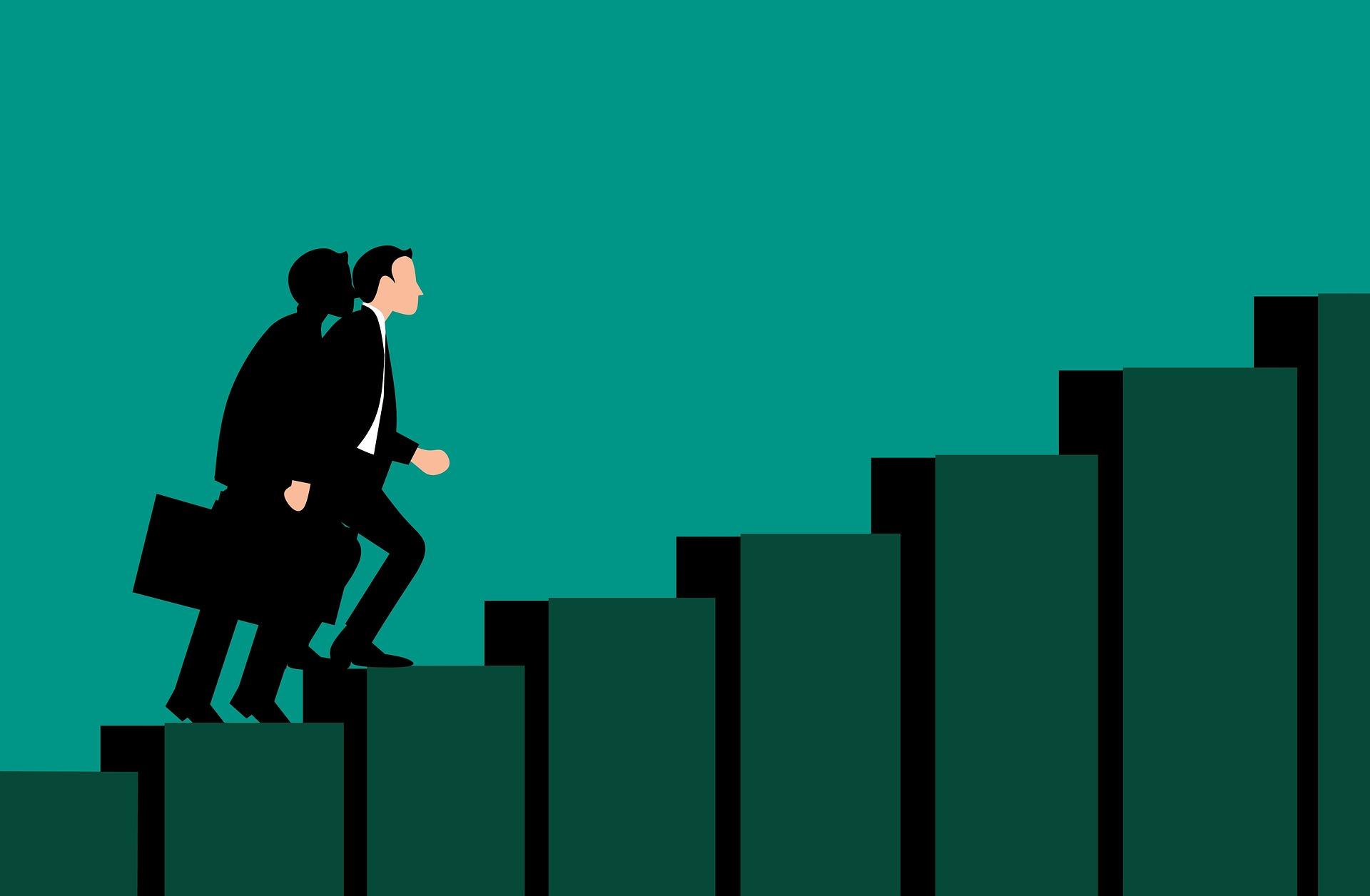 10 passos que vão te ajudar a crescer na empresa onde você trabalha