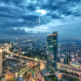Jakarta this Afternoon by Henry Suwardi - Landscapes Starscapes