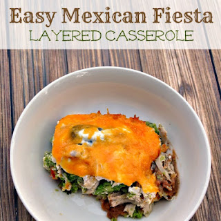Easy Mexican Fiesta Layered Casserole