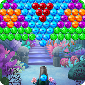 Atlantis Pop Bubble Shooter