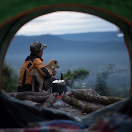 Wonder time by Ravuth Um - Novices Only Portraits & People ( #travel#arengvalleys#advanture#tracking# )