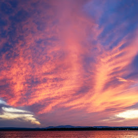 Cotton Candy by Debora Garella - Landscapes Cloud Formations ( vt, grand isle )