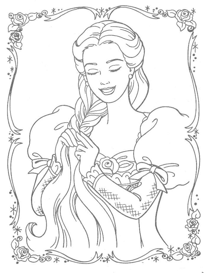 Princess Coloring Pages Kids Network