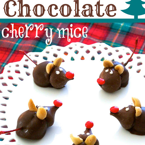 Cherry Chocolate Mice