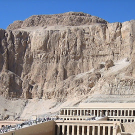 Mortuary Temple of Hatshepsut by Dennis Ng - Buildings & Architecture Statues & Monuments
