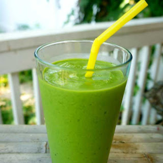 Orange Mango Banana Spinach Smoothies