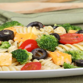 Cheesy Pasta Salad