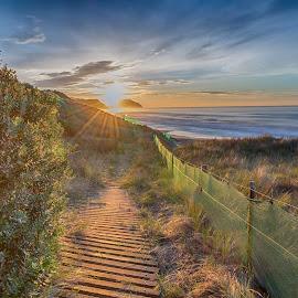Glimpse of Hope by Maynard Rabanal - Landscapes Beaches ( sea, sunrise, beach )