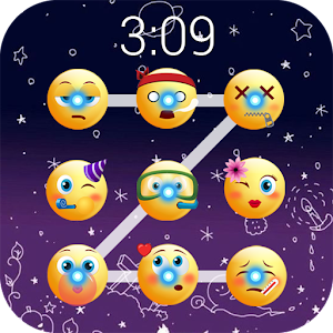 Emoji lock screen pattern Icon