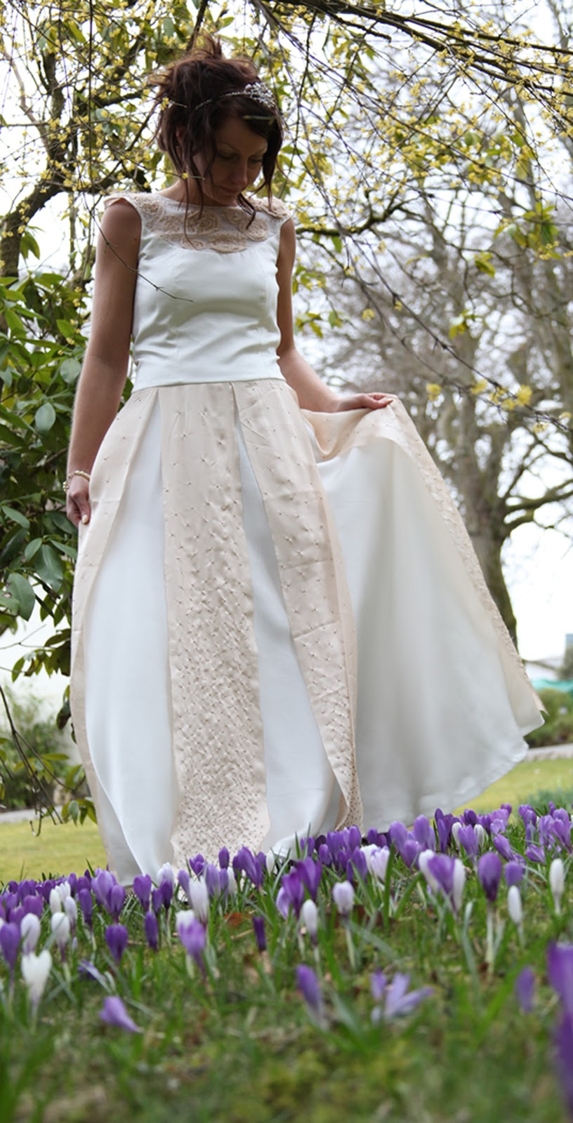 modern hippie wedding dresses