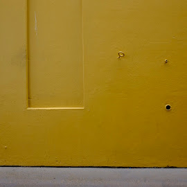 Zen in yellow by Michael Choi - Abstract Patterns ( zen, museum, yellow, sydney, wall, city )