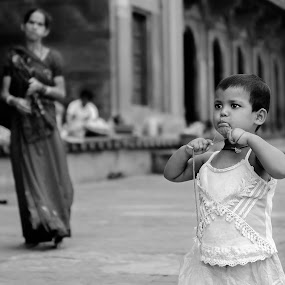 THE CUTEST by Adityendra Solanki - People Street & Candids