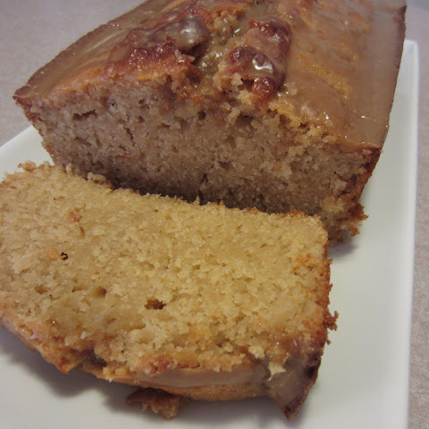 Glazed Buttermilk Loaf Cake