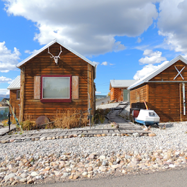 Cool Places by Jamie Boyce - Buildings & Architecture Homes ( cool, leadville, sidestreet, colorado, homes, rustic,  )