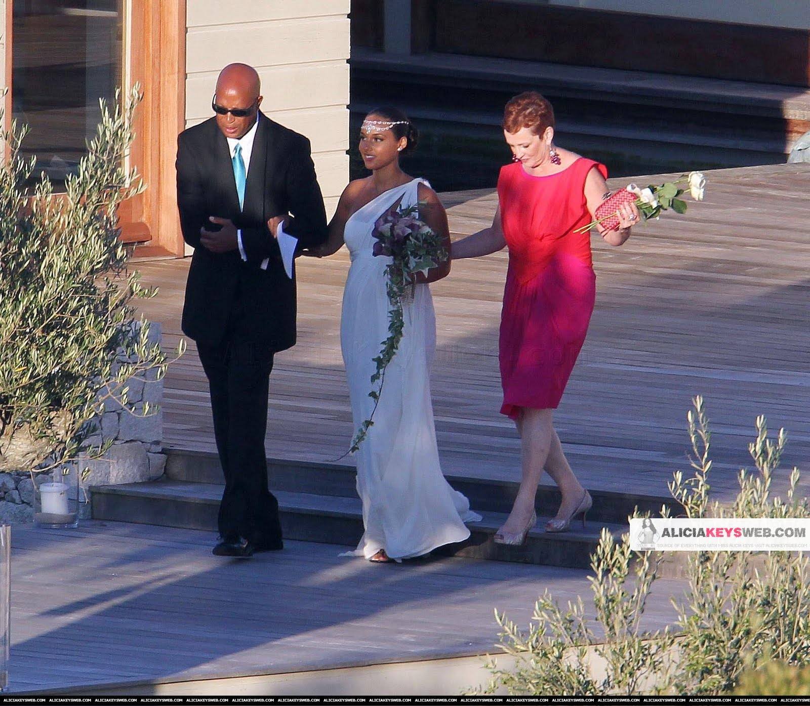 alicia keys wedding
