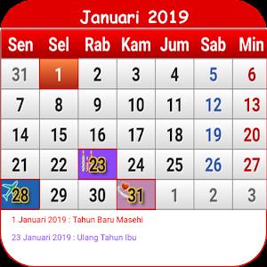 Indonesia Calendar For PC (Windows & MAC)