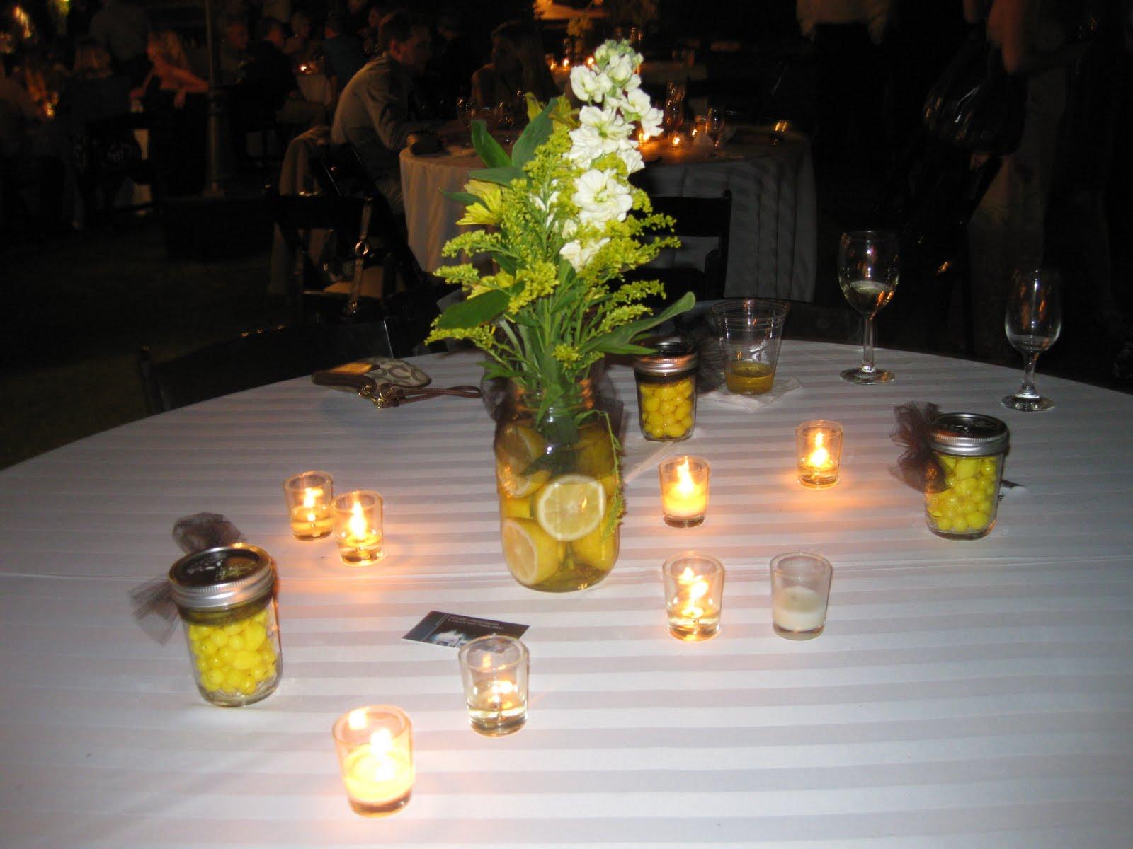 Vineetas Blog Homemade Wedding Centerpieces