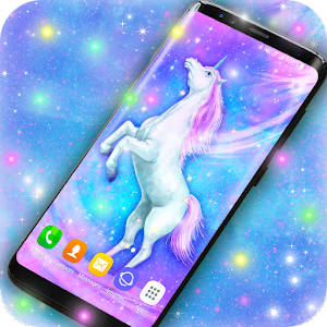 Majestic Unicorn Live Wallpaper Icon