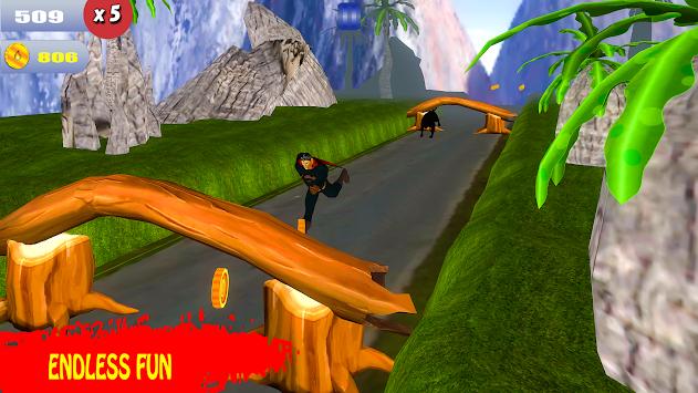 Super Flying Hero Run 2017 apk screenshot