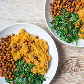 Sweet Potato & Carrot Mash Bowl