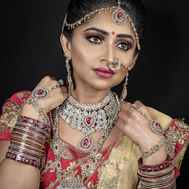 Indian Princess by Paul Phull - People Portraits of Women ( pretty, indian bride, indian dress, princess, indian )