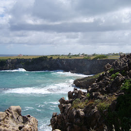 It's not all tropical beaches in Barbados by Gareth Evans BA Hons - Landscapes Caves & Formations