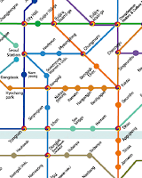 Screenshot of Seoul Metro Map
