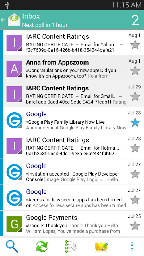 Email App - All Mails Pro Screenshot 1