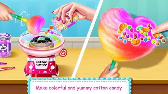 Cotton Candy Shop - kids cooking game