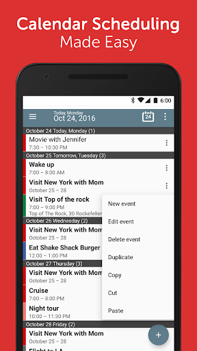 Calendar+ Schedule Planner App screenshot 1