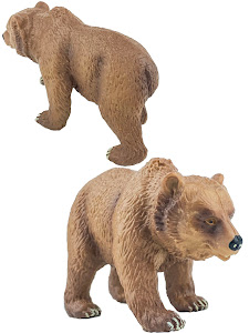 "Игрушка-фигурка серии ""Город Игр"", медвежонок L, коричневый"
