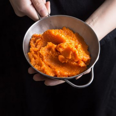 Sweet Carrot Puree in Pressure Cooker