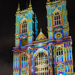 Lumierre Westminster Abbey by Mike Tricker - City,  Street & Park  Night (  )